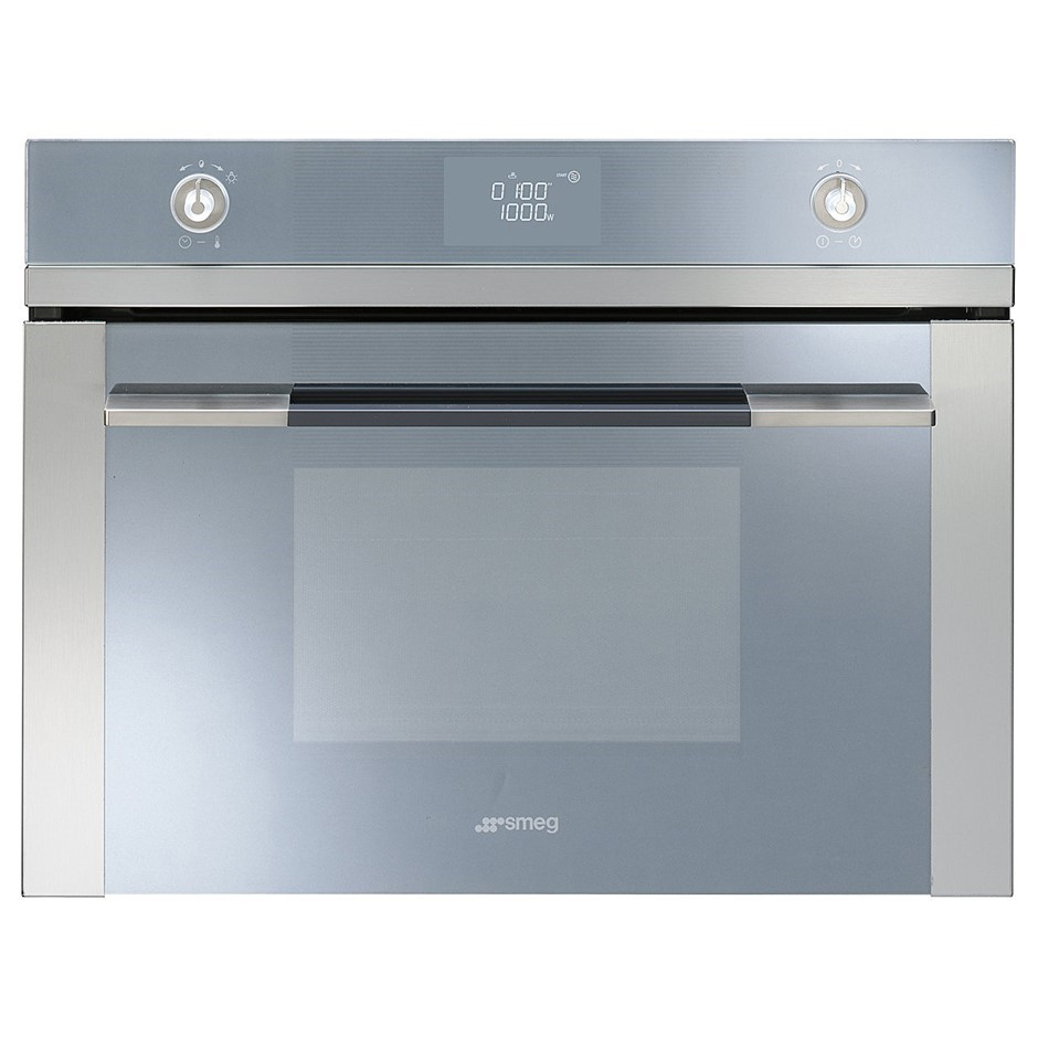 Smeg 50L Linear Aesthetic Built-In Microwave Oven 1000W - Model SFA4125M
