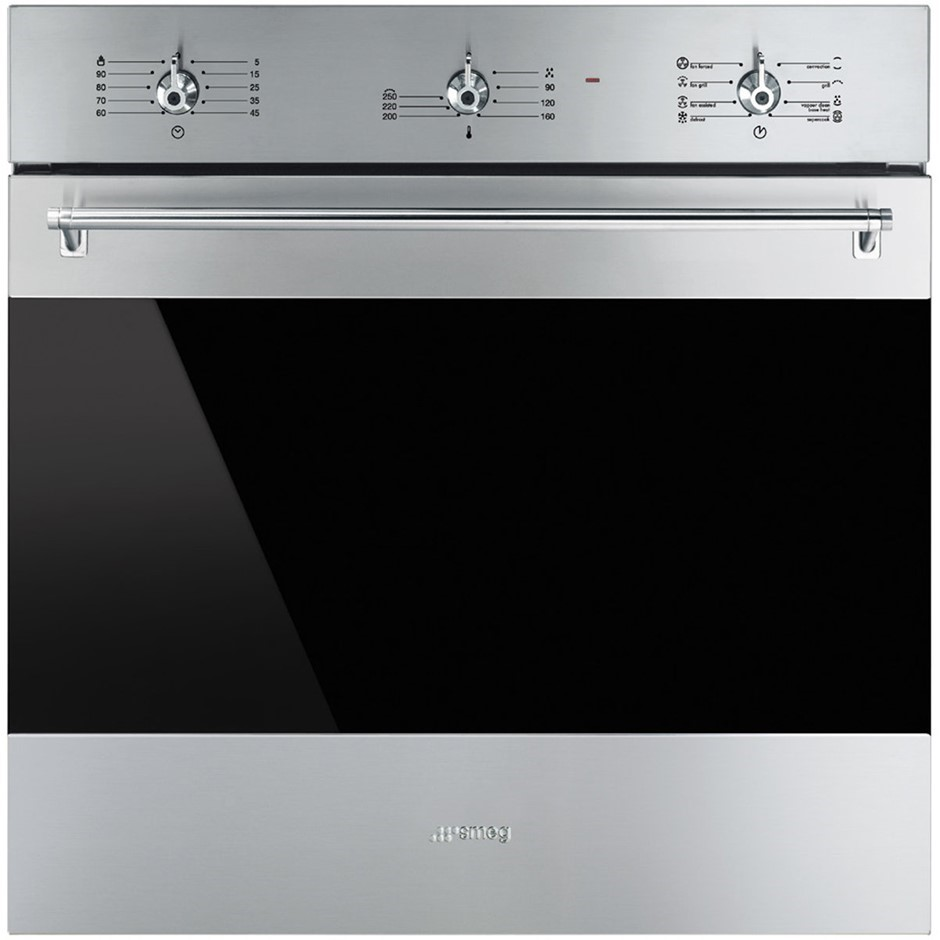 Smeg 60cm Classic Aesthetic Electric Built-In Oven - Model SFA6304X2