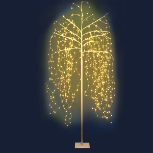 Jingle Jollys 2.1M LED Christmas Willow