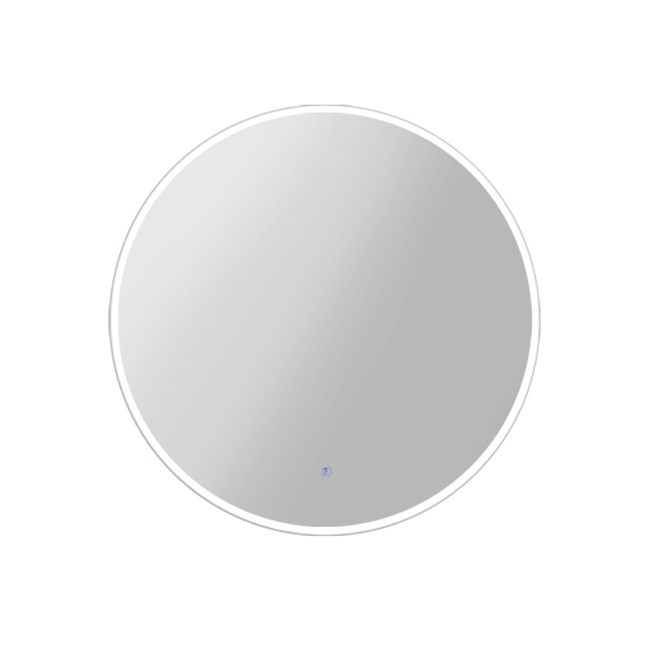 Embellir 70CM LED Wall Mirror With Light Bathroom Decor Round Mirrors
