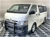2007 Toyota Hiace Commuter LWB T/Diesel Auto 11 Seater Bus 104,813 kms