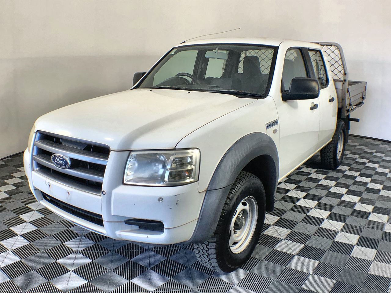 2007 Ford Ranger XL T/Diesel Auto Dual Cab Ute 113,566 kms