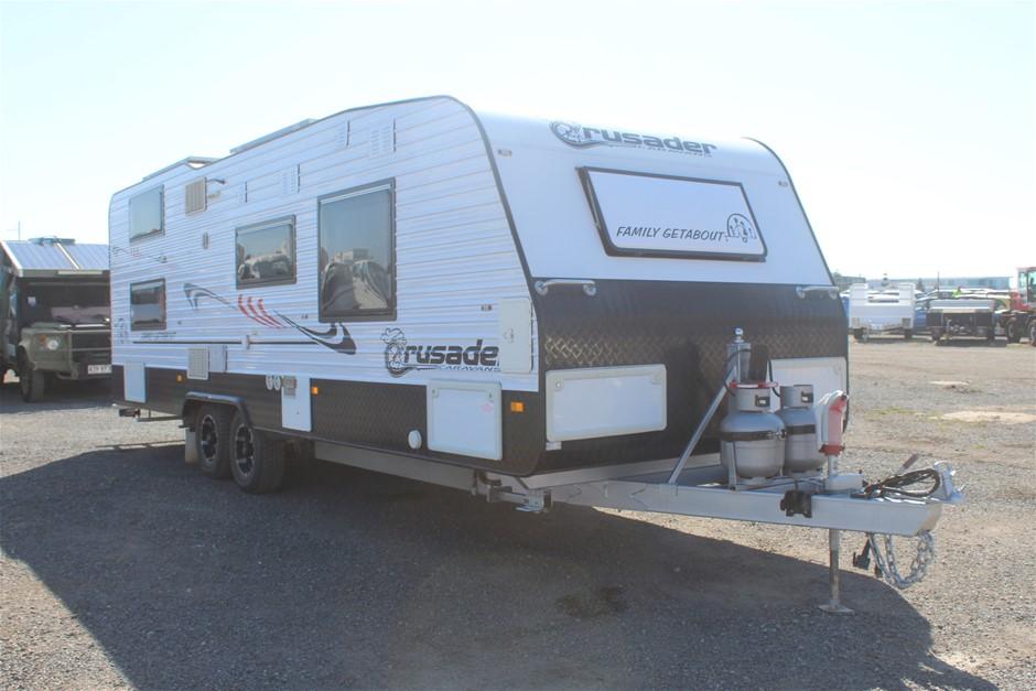 2016 Crusader Caravans F-G Tandem Caravan