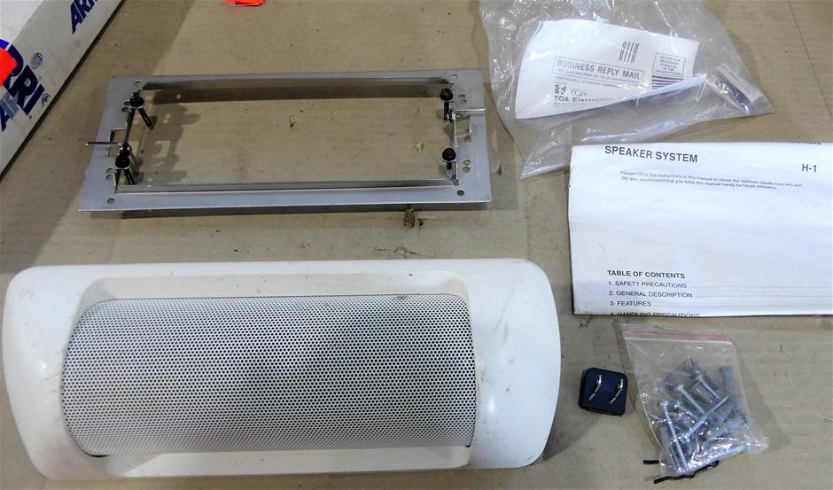 Toa h-1 ex, speaker system