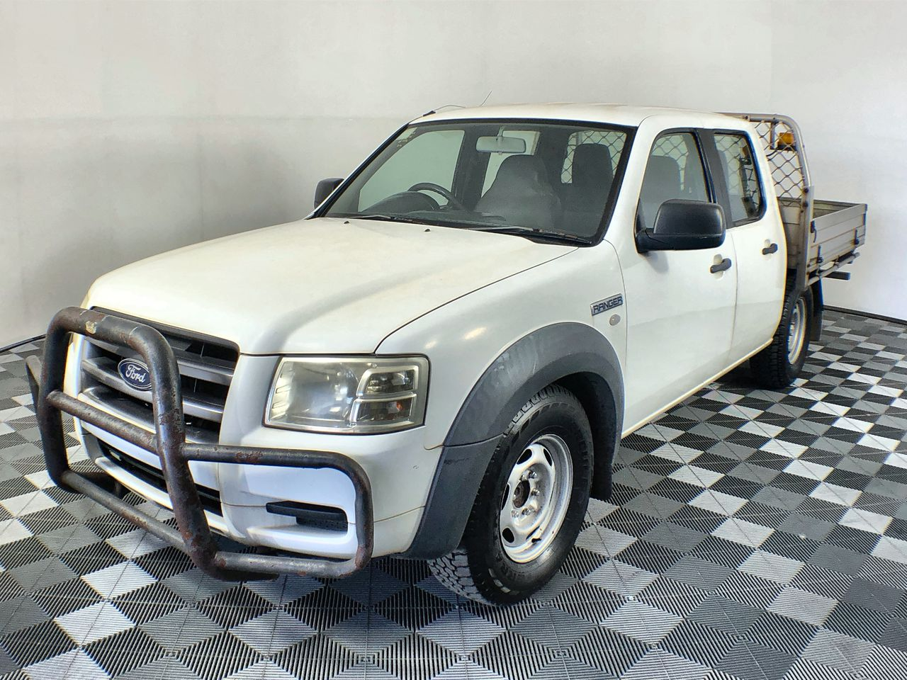 2007 Ford Ranger XL T/Diesel Auto Dual Cab Ute 71,264 kms