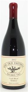 The Old Faithful Cafe Block Shiraz 2012