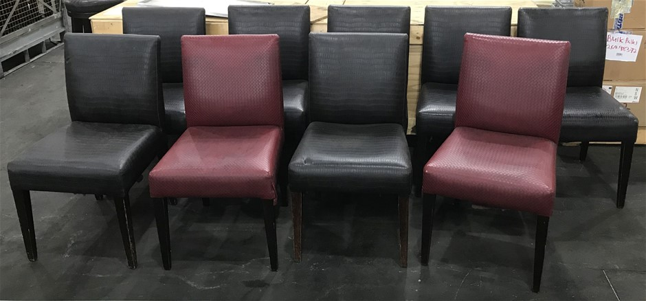 Qty 9 x Restaurant/ dining chairs