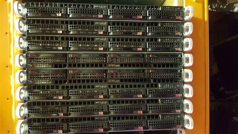 SuperMicro 24-Cores V3, 1U Server 2.4TB storage 192GB RAM