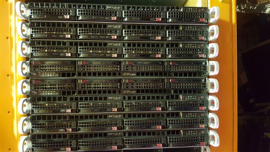 SuperMicro 12-Cores V2, 1U Server 12TB storage 192GB RAM