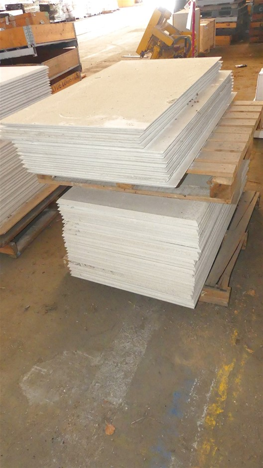 Qty 1 x Stack (approx. x 38 x Sheets) Compressed Concrete Sheeting