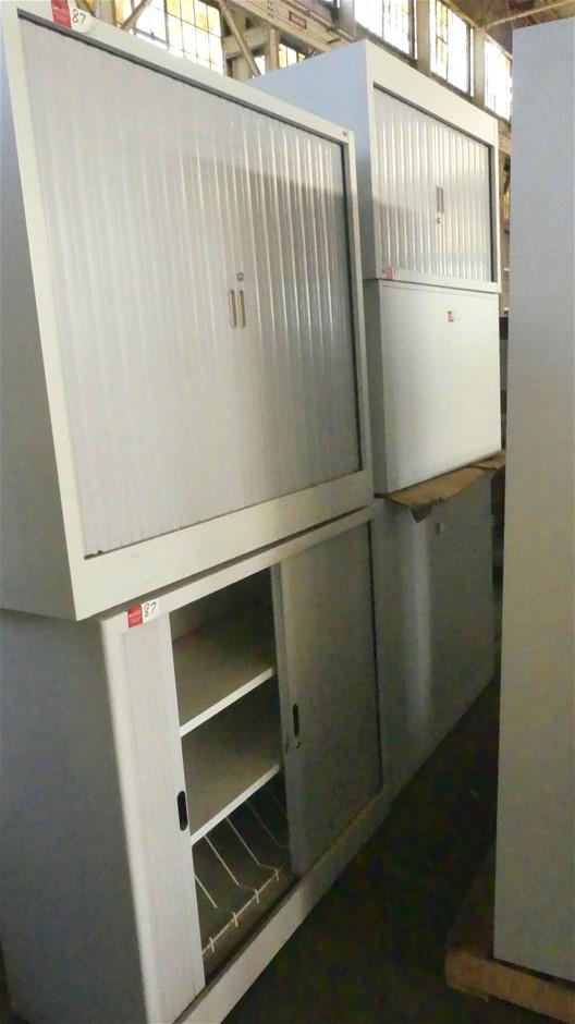 Qty 5 x Metal Storage Cabinets