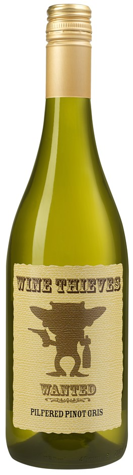 Wine Thieves Pinot Gris 2017 (12 x 750mL) Chile