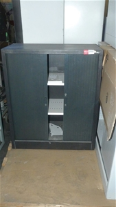 Qty 2 x assorted Metal Cabinets