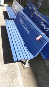 Railway Memorabilia - Platform Seat
