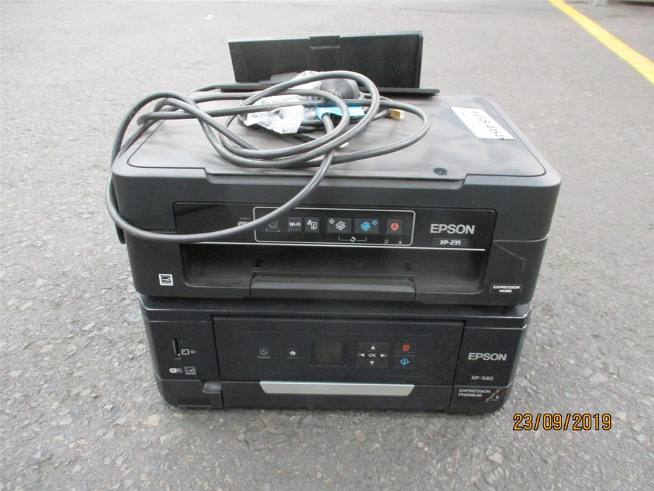 Qty 2 x Epson Scanners