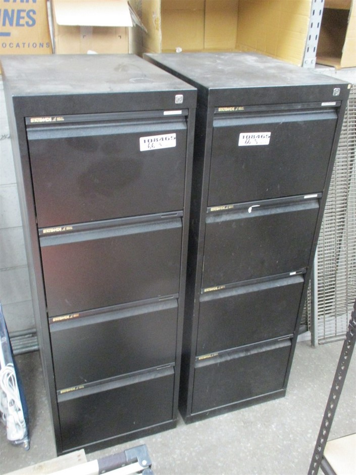 Qty 2 x Statewide Filing Cabinets