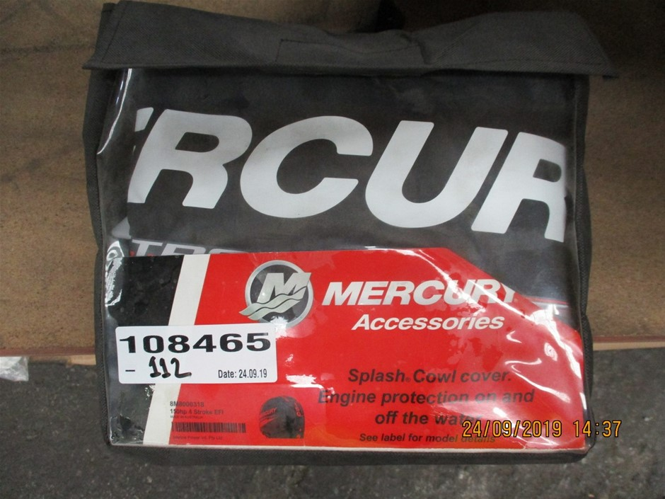 Mercury Splash Cowel Cover for Outboard Engine
