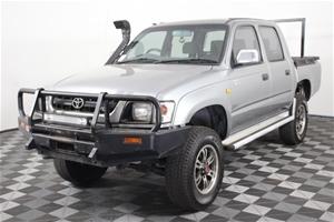 2004 Toyota Hilux (4x4) Manual Dual Cab
