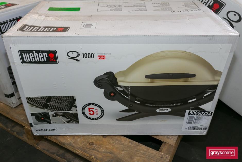 1 x Weber Q1000 Outdoor Gas Grill