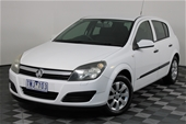 Unreserved 2005 Holden Astra CD AH Automatic