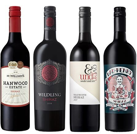 Mixed Shiraz Tasting Pack (12 X 750mL) Australia