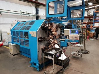 2004 Herdon HCM-50T 12 Axis CNC Wire Forming/Spring Machine