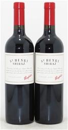 Penfolds `St Henri` Shiraz 2002 (2x 750mL), SA. Cork closure.