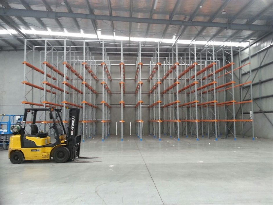 Drive In Pallet Racking, Approximately 360 Spaces