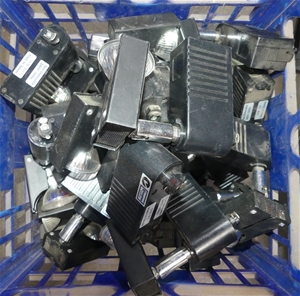 Approx 25 pieces of Halogen Track Lights