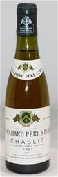 Bouchard Pere & Fils Chablis 1991 (1x 375ml), Burgundy. Cork closure.
