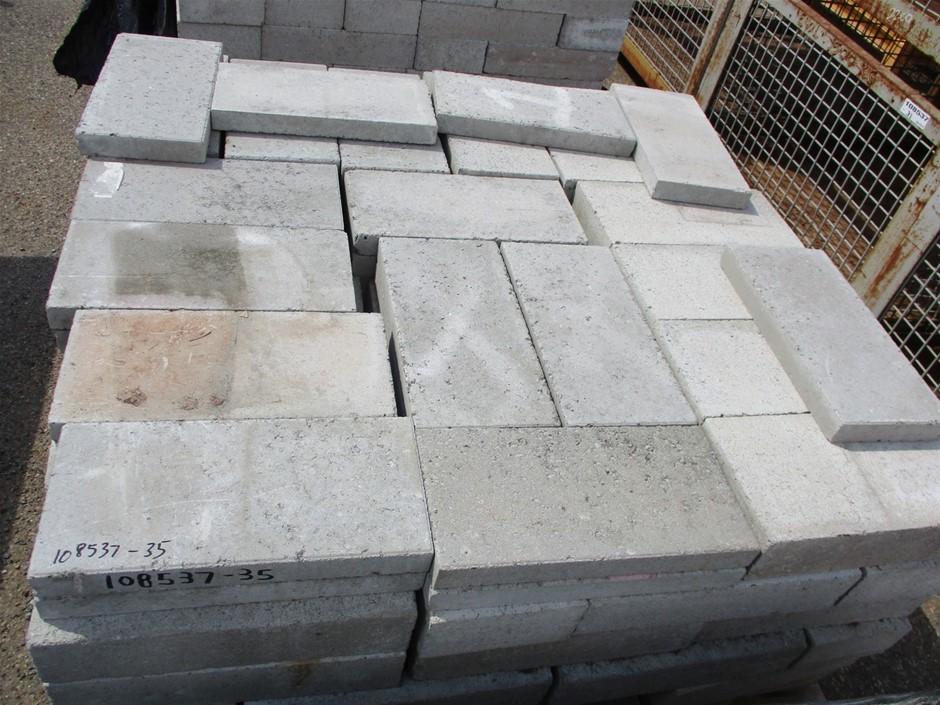 Qty Approx. 120x Concrete Blocks