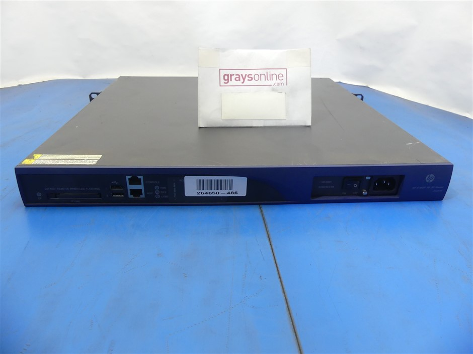 HP ( JF284A ) A-MSR30-20 Multi-Service Router
