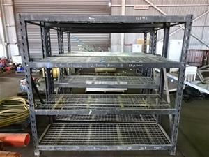 Storage Rack, steel fabrication, 4 Shelf