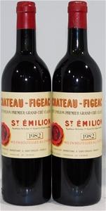 Chateau Figeac St Emilion 1982 (2x 750ml