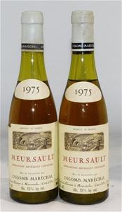 Colomb-Maréchal Meursault 1975 (2x 375ml