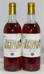 Domaine de Grandchamp Monbazillac 1976 (