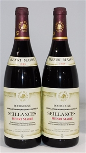 Henri Maire Seillances Bourgogne 1989 (2
