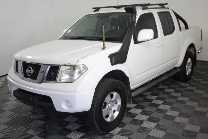 2010 Nissan Navara ST (4x4) D40 Turbo Diesel Automatic Dual Cab