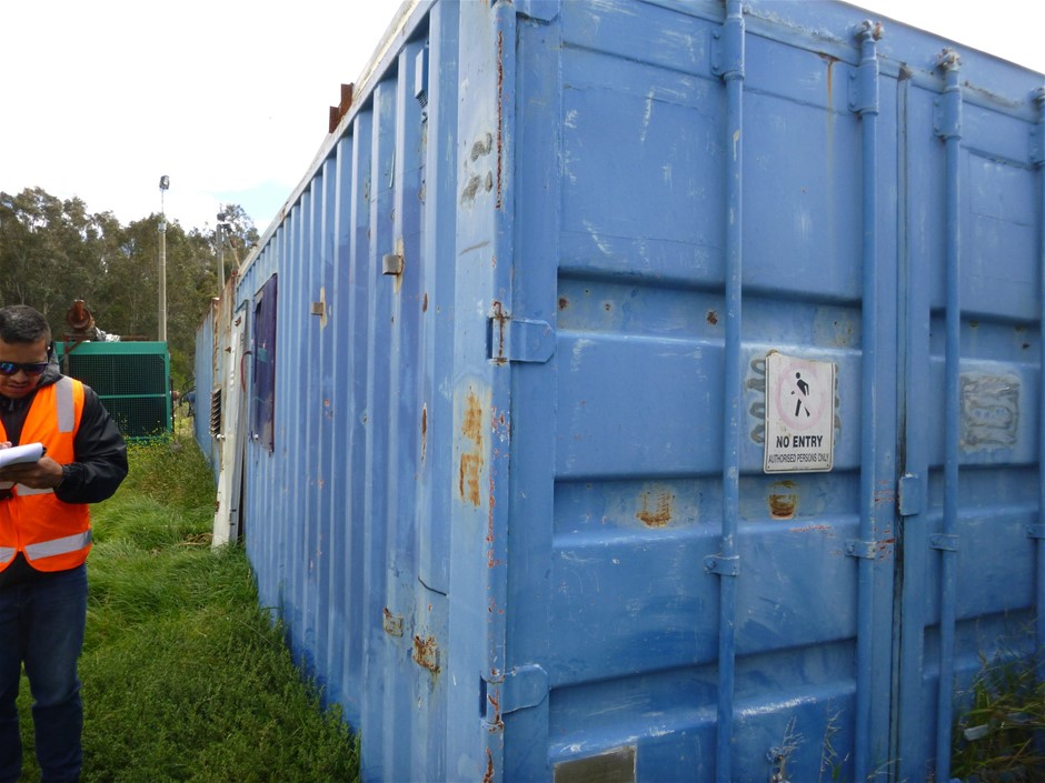 Converted 20 Ft Shipping Container