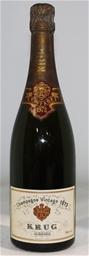 Krug Grande Cuvée Reims 1973 (1x 780ml), Champagne. Cork closure.