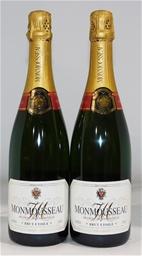 Monmousseau Brut Etoile NV (2x 750ml), Champagne. Cork closure.