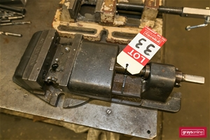 Machine vyce marked ACI Tool 3 bolt hold