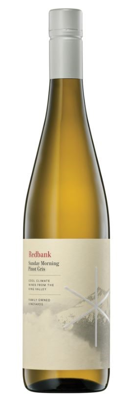 Redbank Sunday Morning Pinot Gris 2018 (6 x 750mL) King Valley, VIC
