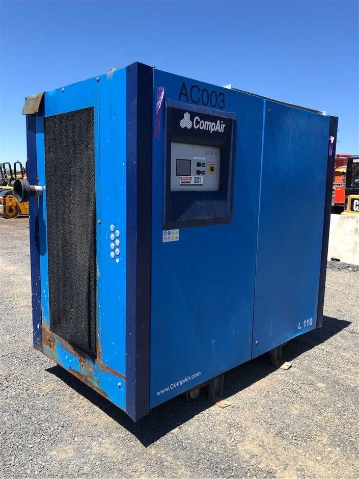 2015 CompAir 3 Phase Screw Compressor