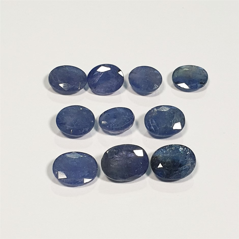 Parcel of Oval Cut Tanzanite 56.33 Ct in Total