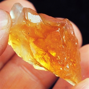 129.15ct. Genuine Uncut Yellow Citrine L