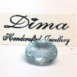 One Stone Aquamarine 3.28ct in Total