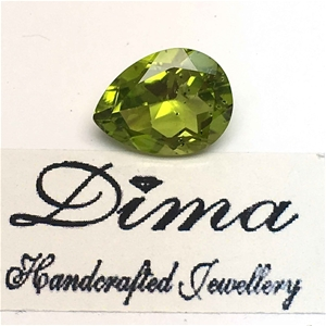 One Stone Peridot 3.95ct in Total