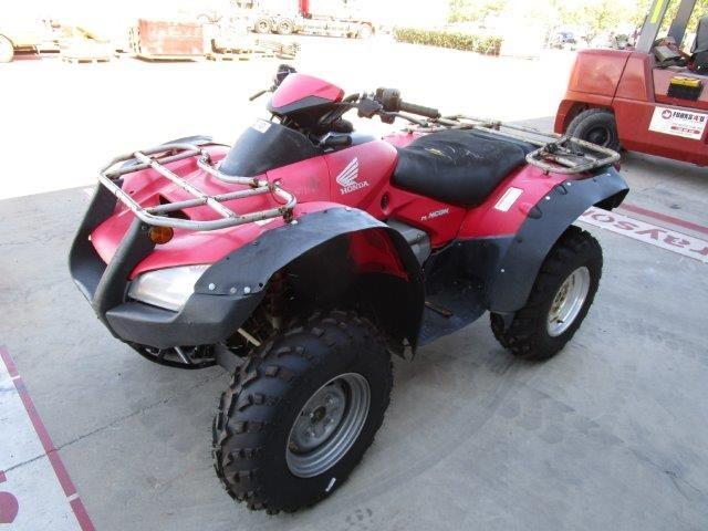 2004 Honda TRX 650SA 1 seater Quad, 30484 km indicated