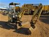 2007 Yanmar V1027 Rubber Tracked Mini Excavator with Bucket